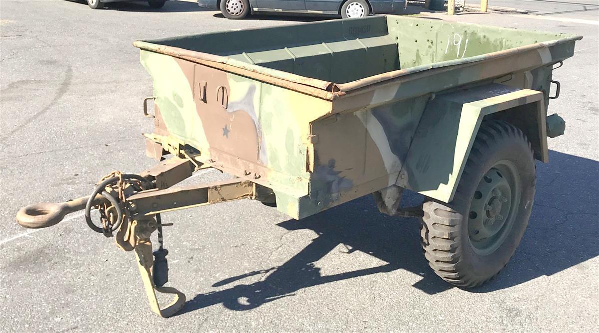 M416 1/4 Ton Cargo Trailer #6 Jeep Trailer