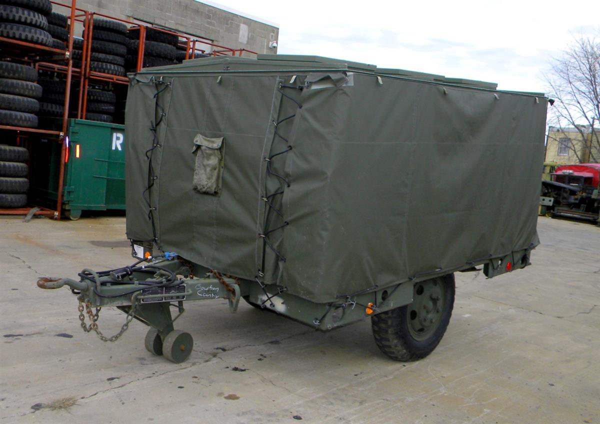 2 Wheel Trailer Mounted Mobile Field Kitchen, Green MKT-99 NSN ...