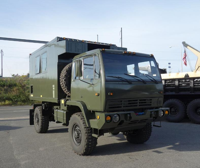 LMTV M1079 and M1082 Truck and Trailer Ready for Export | Gallery