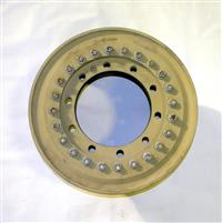 MRAP-170 | Aluminum 20 Inch by 10 Inch Rim, 10 Lug Nut, European Standard for MRAP. USED.  (3).JPG