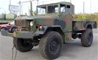 Bobbed M35A2 with Winch