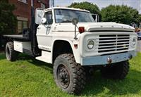 1972 Ford F700 4x4 With Caterpillar Diesel Engine
