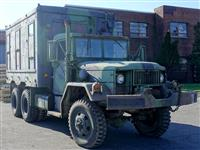 AM General M185A3 2 1/2 Ton Repair Shop Van Truck