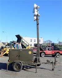 1990 Trailer Mounted 5 KW Towable Floodlight Tower