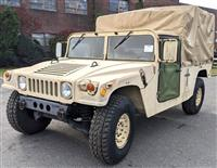 M998 Two Man HMMWV with Soft Top and Rear Cover - Tan