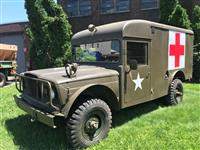 M725 Ambulance 1968  Kaiser Jeep M715 5/4 ton