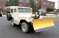 1960 Willys 4x4 CJ5 Jeep with Snow Plow