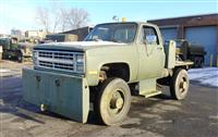 Aircraft Towing Tractor 1985 Chevrolet C-30 4x4 Tug Truck