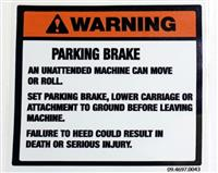 COM-5263 | 7690-01-495-6956 Parking Brake Sticker (Large) (2).JPG