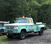 1970 Dodge W300 Step Side With Winch