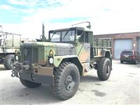 Bobbed AM General M35A3 With 24 Volt Winch