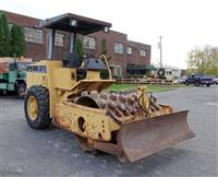 1997 Caterpillar Model CP433C Vibratory Soil Compactor Roller with Front Blade