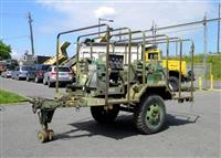 M103A3 1 1/2 Ton Chassis Trailer Equipped with 2 MEP-002A Diesel-Powered Generators