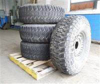 TI-292 | Goodyear Wrangler MTR 37x12.50R16.5LT Tire Mounted on 8 Hole Rim  Wheel (4 Tire Lot Sale) (2).JPG