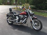 1989 Harley Davidson FXSTC Motorcycle, Soft tail Classic