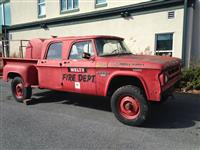 1968 Dodge W200 step side, 6 cylinder gas engine 4x4
