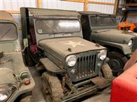 Four Collectible Jeeps CJ5, M151A1, CJ3B, M38A1/CJ5