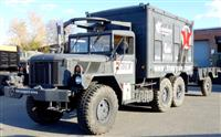 M109A4 Customized Van Truck with M105 Trailer