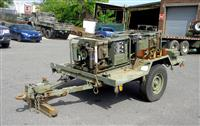 M116A2 3/4 Ton Chassis Trailer Equipped with 2 MEP-017A Gasoline Powered Generators