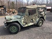 M151A1 Military MUTT Jeep UnCut Original with Arctic Hard Top Kit