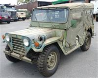 M151A2 Jeep AM General MUTT with ROPS