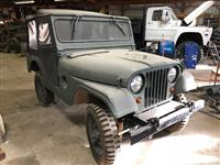 Military Jeep M38A1 Kasier 1952-53