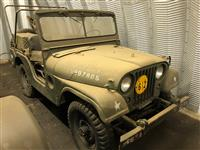 M38A1 Jeep Korean War Era Jeep
