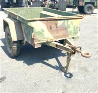 M416 1/4 Ton Cargo Trailer for Jeep Trailer 3