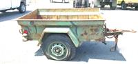 M416 1/4 Ton Cargo Trailer for Jeep Trailer #4