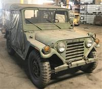 M151A2 AM General Jeep MUTT with ROPS