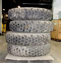 TI-165 | TI-165  Michelin X 11.00R20XL Tire on 6 Hole Rim (4 Tire Lot Sale) (Used) (2).JPG