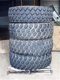 TI-188 | TI-188  Michelin XZL 1600R20 with Run Flats 4 Tire Lot Sale Used (2).JPG