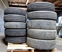 TI-212 | TI-212  Miscellaneous Lot Sale of 10 Tires Various Makes and Sizes (Used) (2).JPG