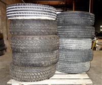 TI-214 | TI-214  Miscellaneous Lot Sale of 10 Tires Various Makes and Sizes (Used) (4).JPG