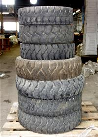 TI-217 | TI-217  Miscellaneous Lot Sale of Forklift Tires Various Makes and Sizes (Lot Sale of 7 Tires) (2).JPG