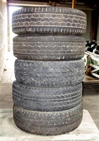 TI-218 | TI-218  Miscellaneous Lot Sale of 5 Tires Various Makes and Sizes (Used) (2).JPG