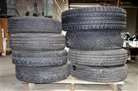 TI-223 | TI-223  Miscellaneous Lot Sale of 8 Tires Various Makes and Sizes (Used) (2).JPG