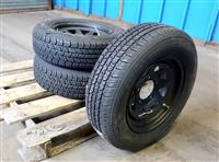 TI-306 | TI-306 Cooper Trendsetters SE P20570R15 Tire Mounted on 5 Hole Wheel  Rim 3 Tire Lot Sale NOS (14).JPG