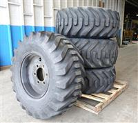 TI-312 | TI-312 Goodyear Super Grip Loader 15-19.5 NHS Tire Mounted on 6 Hole Rim  Wheel (4 Tire Lot Sale) (11) (Large).JPG
