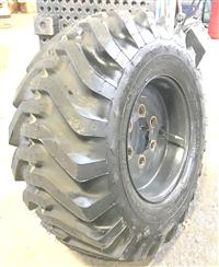 TI-439 | TI-439  Goodyear Super Single 15-19.5 Tire Mounted on 6 Hole Rim  Wheel (USED)(4).jpg