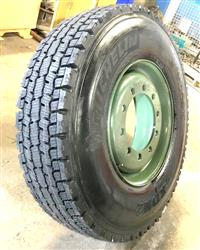 TI-459 | TI-459  Michelin XDN2 12R22.5 Tire Mounted on 10 Hole Rim(12).jpg
