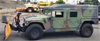 M998 Four Man HMMWV with Snow Plow and Helmet Hard Top and Hard Doors